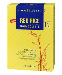 RED RICE mit MONACOLIN K
