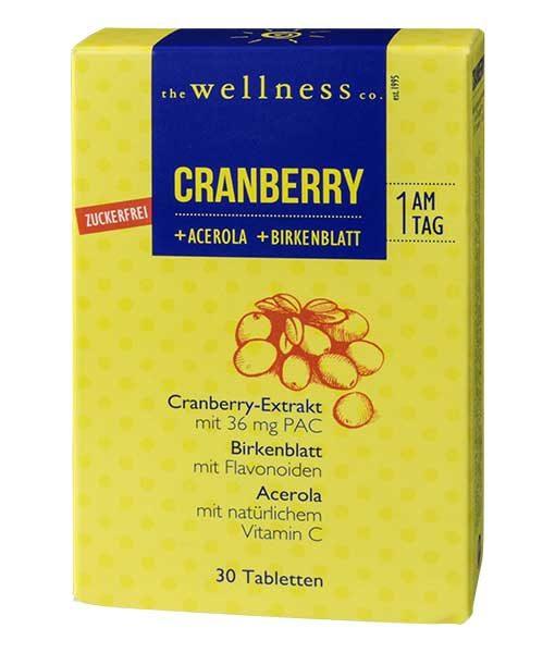 Cranberry +Acerola +Birkenblatt