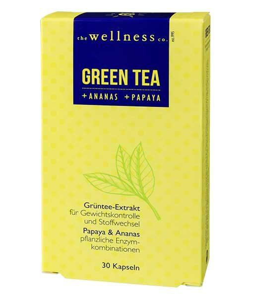 GREEN TEA + ANANAS . PAPAYA
