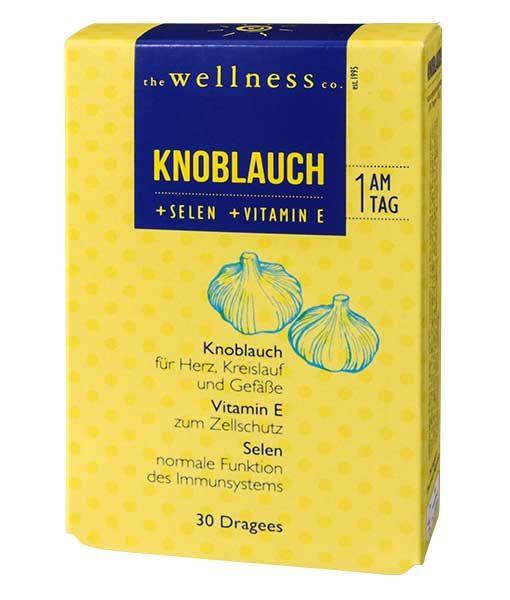Knoblauch +Selen +Vitamin E