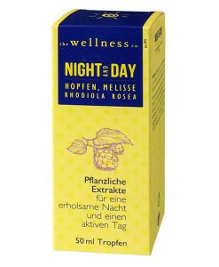 NIGHT AND DAY mit PFLANZENEXTRAKTEN